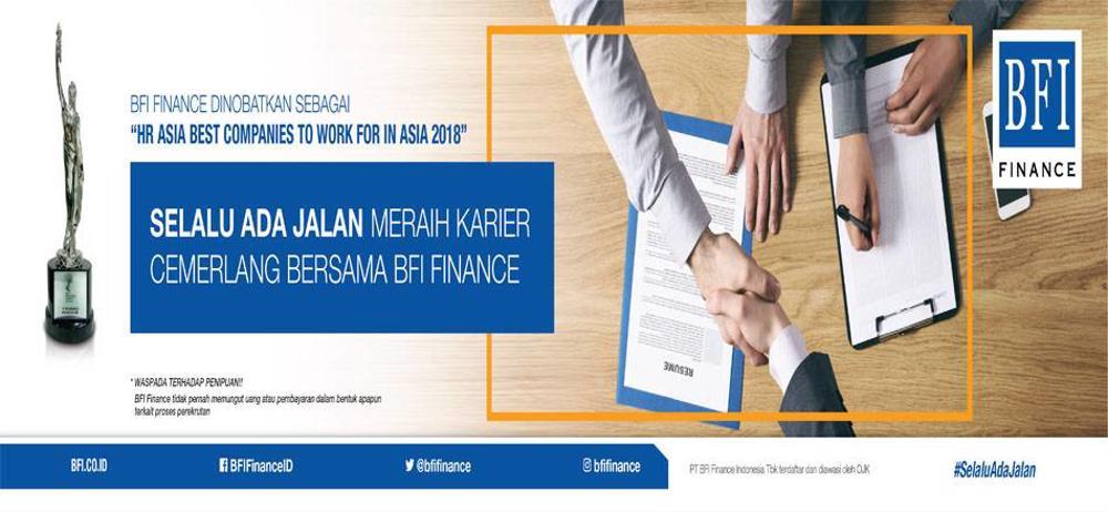 Lowongan Kerja PT. BFI FINANCE INDONESIA TBK | TopKarir.com
